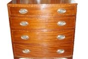 Bow Chest of Drawers