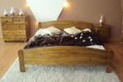 Betty Oak Colour Wooden Bed Frame