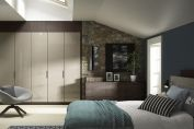 Bedroom sliding doors system