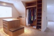 Bespoke Oak Walk In Wardrobes