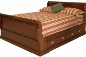 Military Sleigh Bed