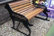 Our Rottweiler Bench (with tail)