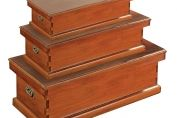 Boston Mahogany Storage Box - Small