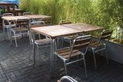 Aluminium & Teak Range Features