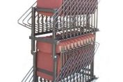 KENCOT STACKING CHAIR TROLLEY - PERFECT FOR CONFERENCE HALL CHAIRS