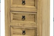 Provence 5 Drawer Chest (Narrow)