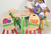 Bugs Table & 4 Chairs Set
