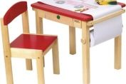 Guidecraft Art Table and Chair Set