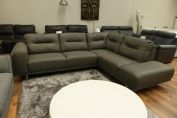 MIZZONI ITALIA VERONA ECO LEATHER MODERN CORNER SOFA