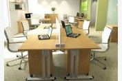 Structurex C1 Range Straight Desk