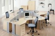 Office Desk Clusters