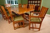 Dining chairs in cherry