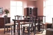 Misuya Solid Elm Wood  Japanese Dining Table (6 seats)
