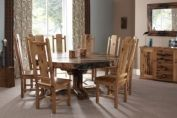 Excelsior dining suite in French Oak