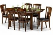 Canterbury Mahogany Finish Extending Table & Chair