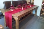 Solid wood Ribble dining table