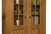 Sarlat Oak Display Cabinet 72110