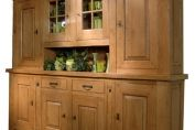 Sarlat Oak Dresser With Sliding Storage Bars 72440 - 72121