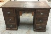 Double Ped Desk / Dressing table