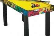 "4'6"" Simpsons Graffiti Pool Table"