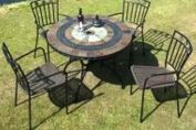 4 Seater Stone & Mosaic Tables