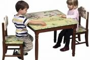 Jungle Design Table & Chairs Set