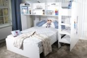 Wizard L-Shaped Triple Bunk Bed