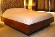 Bespoke American Black Walnut king size bed