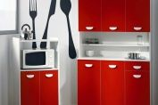 Clementine Kitchen Set in Red