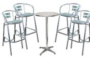 London Outdoor Stool and Table Package