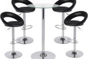 Sorrento Kitchen Bar Stool and Como Table Package