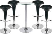 Pod Bar Stool and Como Table Package