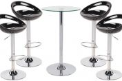 Sorrento Swivel Bar Stool and Como Table Package