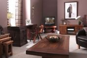 a selection of furniture from wither Jarrah, rhodesian teak and oak