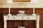 French narrow console table