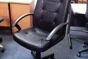 NEW LEATHER LOOK EXECUTIVE CHAIR