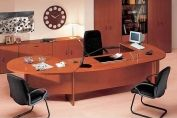 Inspire Wood Veneer Executive Desk