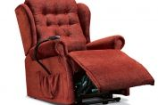 Lynton Standard Single Motor Lift and Rise Fabric Recliner