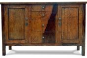 MANGO WOOD TIGER SIDEBOARD WITH 2 DOORS & 8 DRAWERS