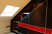 Sliding Doors System with Red