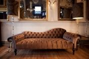 Fitzroy Buttoned Chaise