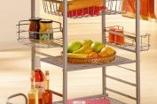 Ulric Kitchen Trolley in Beech