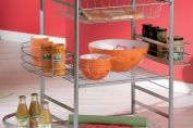 Ulric Kitchen Trolley in White