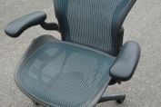 HERMAN MILLER AERON CHAIR GREEN