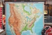 Map 1969 North America