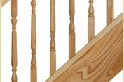 Ash Shown in Oxford Style Spindles.