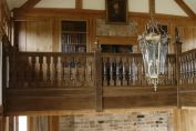Carved Oak Balustrading