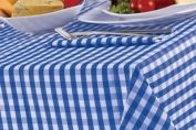 Bluebell Gingham Check Tablecloth