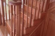 French Polishing Staircase